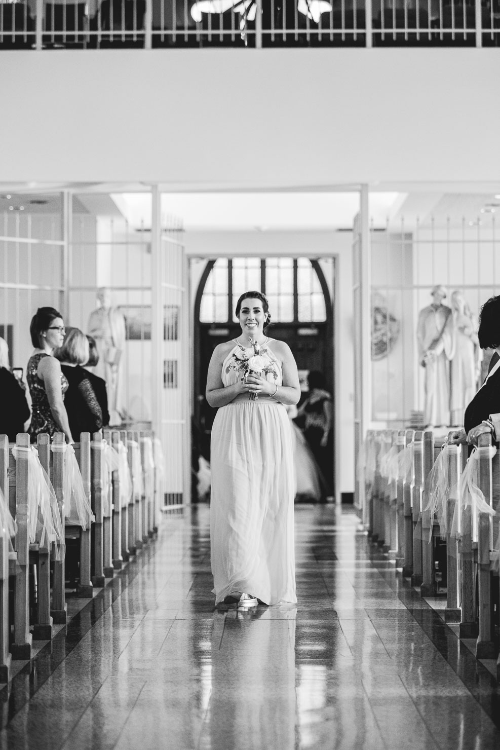 ceremony, bridemaid, wedding, sudbury wedding, akaiserphoto, wedding photographer