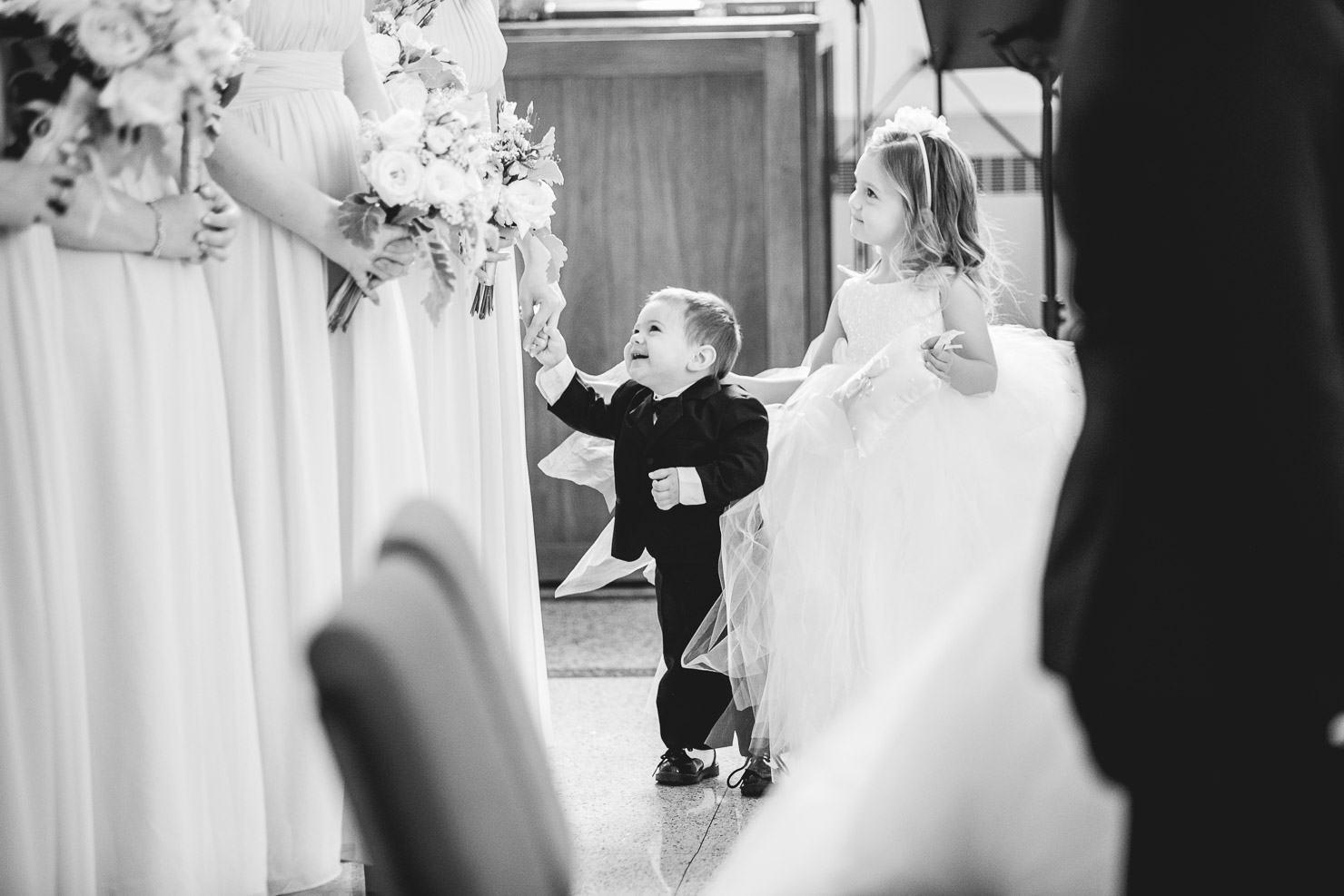 ceremony, ring bearer, wedding, sudbury wedding, akaiserphoto, wedding photographer