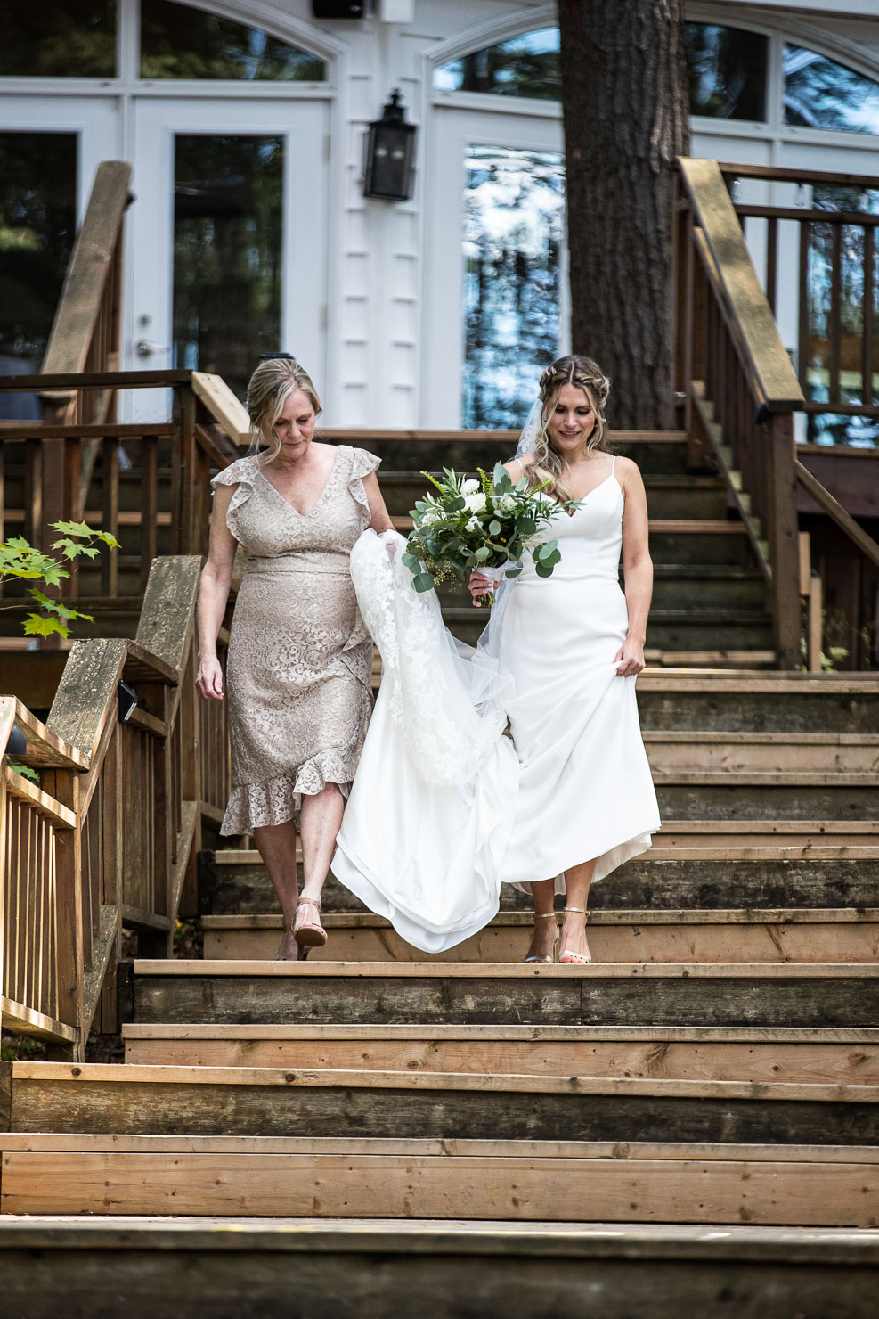 Bridesmaids, Ceremony, Wedding, Wedding Photo, akaiserphoto, Sherwood Inn, wedding photographer, sudbury photographer, muskoka wedding, details